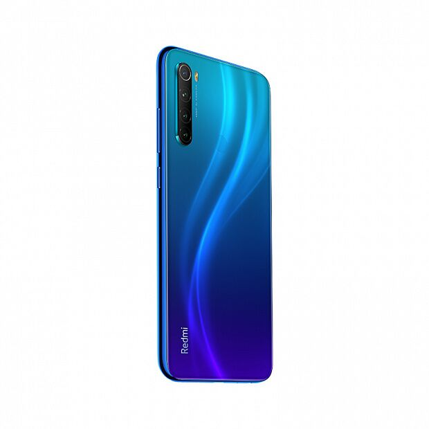 Смартфон Xiaomi Redmi Note 8 128GB/4GB (Blue/Синий)